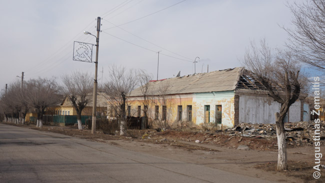 Griūvanti Rudnyko gyvenvietė