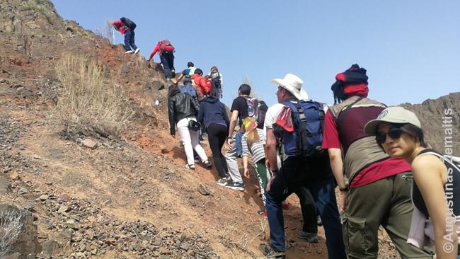 Lipimas į kalnus be įrangos - mėgiama almatiečių pramoga