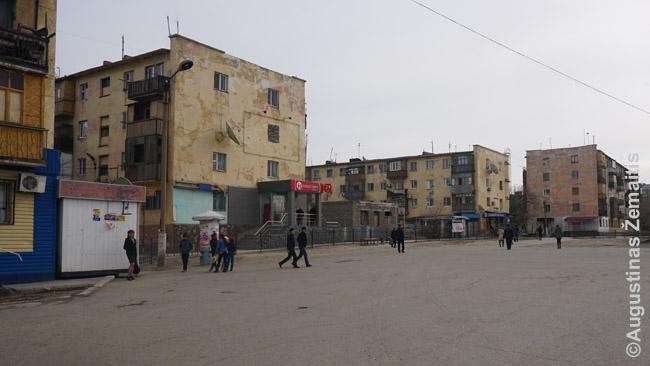 Satpajevo miestas prie Žezkazgano. Tokia, daugybės užsieniečių stereotipuose, yra visa Kazachija.