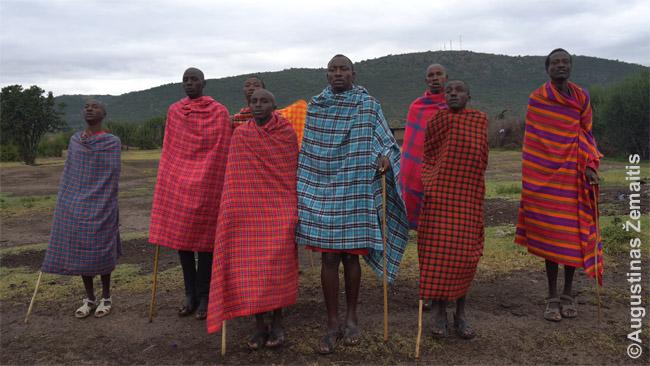 Masajų įšventinimo į vyrus šokis
