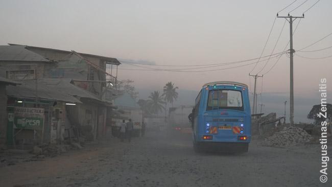 Autobusas Mombasoje