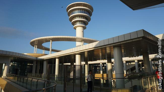 Mombasos naujoji geležinkelio stotis.