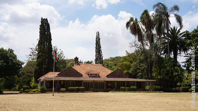 Karen Bliksen dvarelis Nairobio priemiesčiuose