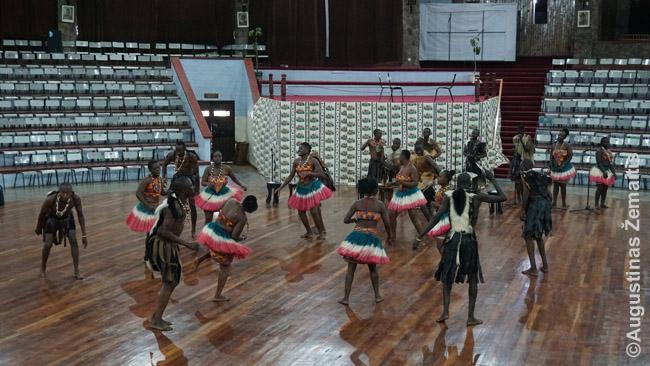 Tautiniai šokiai Bomas of Kenya