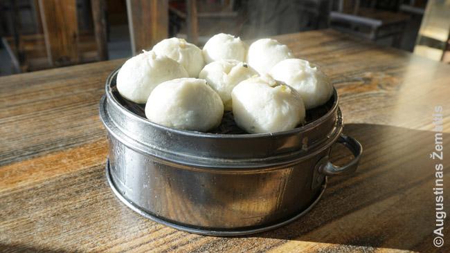 Kiniškos bandelės - įprastas pusryčių maistas
