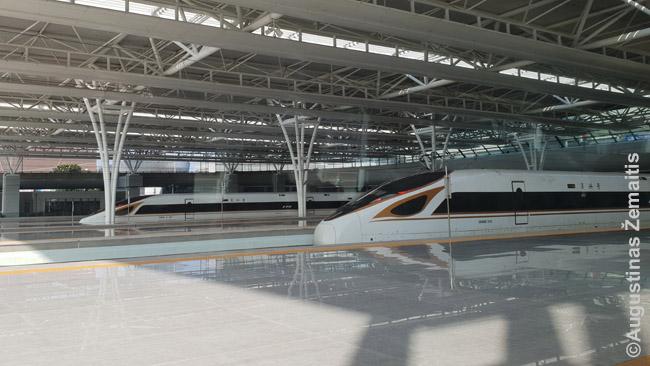 Kinijos greitieji traukiniai