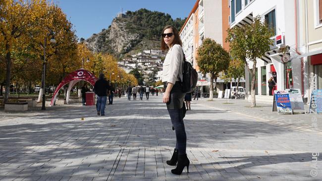 Mano žmona Aistė Beratyje, Albanijoje