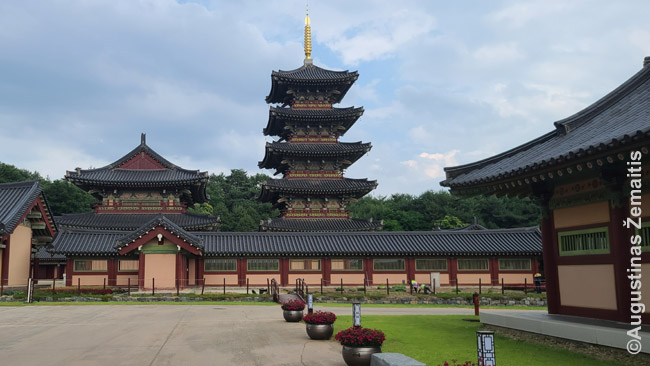 Tradicinė Korėjos architektūra. Pekdžė kultūrinė žemė