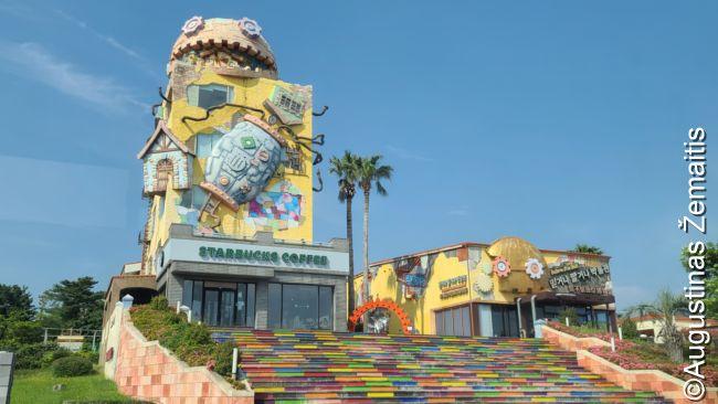 Čedžu komerciniai muziejai pagrindiniame Čungmuno kurorte. Kol kas gera pusė jų nedirba, nes masiniuose viešbučiuose žmonių dar mažai (tačiau tuose, kur apsistoja individualūs turistai - daug)