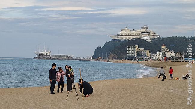 Kurortas rytinėje KOrėjos pusėje