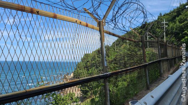 Įtvirtinta Korėjos pakrantė