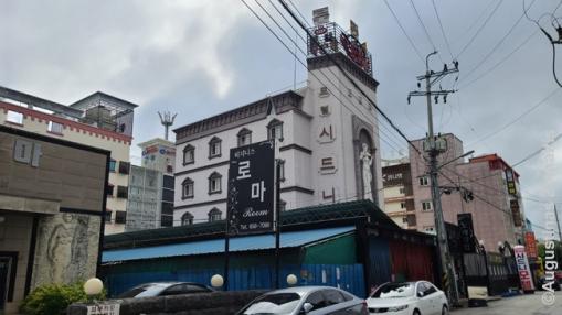 Korėjos motelius pažinsi ir pagal architektūrą - labiausiai iššaukianti