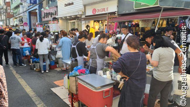Pusano maisto turguje ankšta, kaip visuomet