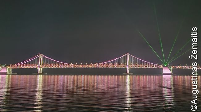 Kvangalio tiltas Pusane