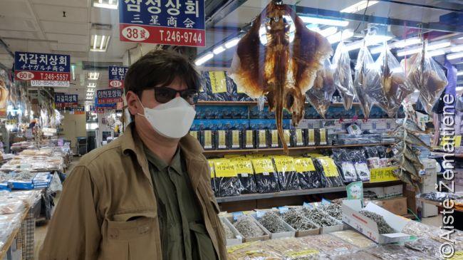 Garsiajame Čagalčio žuvų turguje Pusane