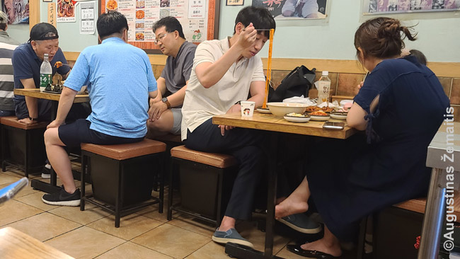 Korėjiečių restorane