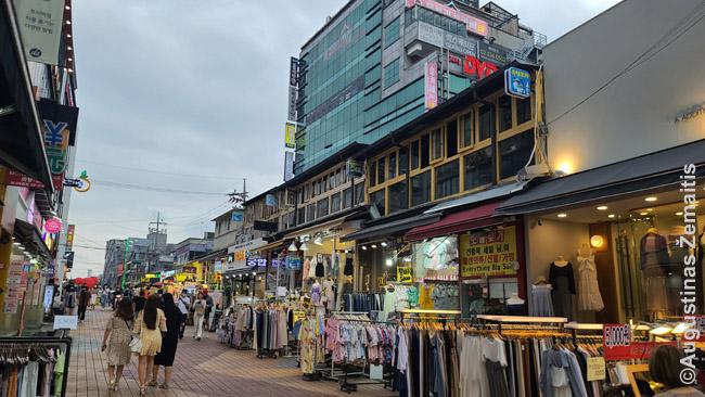 Seulo Hongdae pramogų rajone