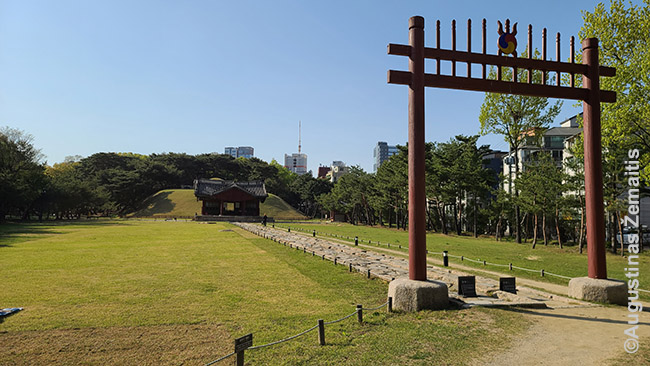 Čosonų dinastijos kapas Seule
