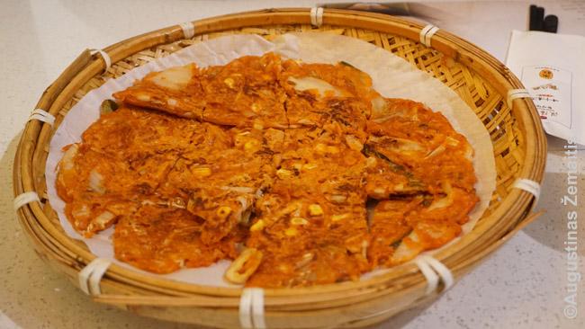 Kimčidžeon - korėjietiškas blynas