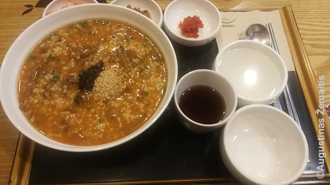 Korėjietiška ryžių košė
