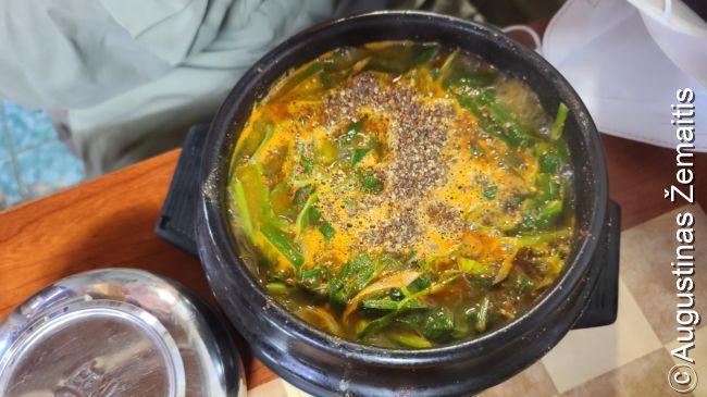 Bošintang (šunienos sriuba)