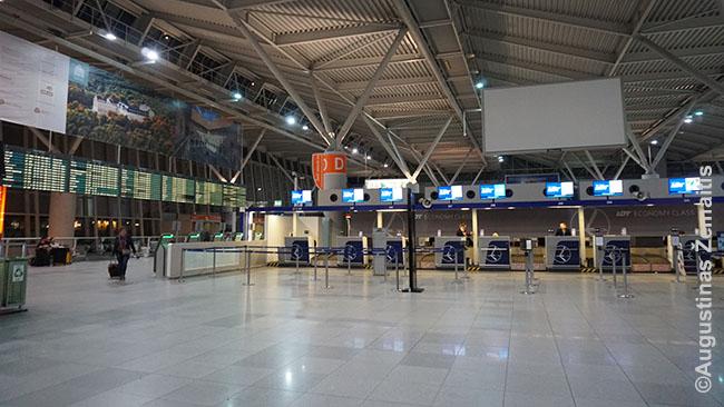 Tuščias Varšuvos oro uostas