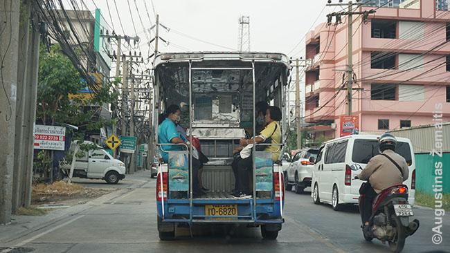 Tailando gatvėse