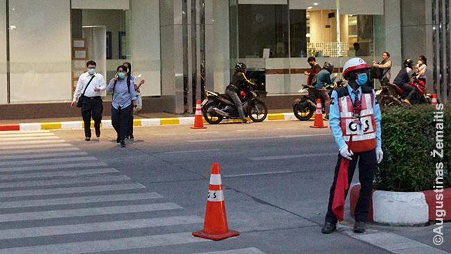 Tailando gatvės vaizdas
