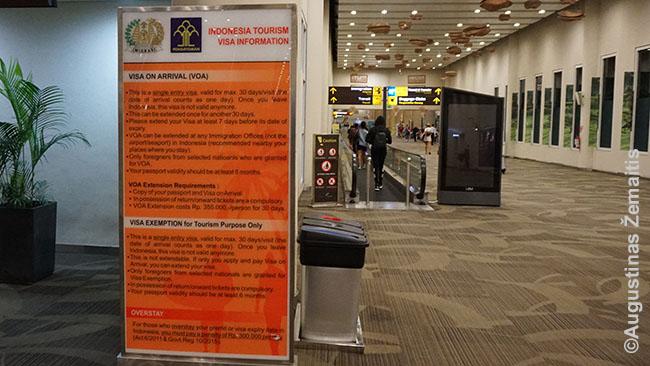 Šią lentelę apie šalsi, kurių piliečiai į Indoneziją gali patekti be vizos, tikriausiai, po kelių valandų ilgam patrauks