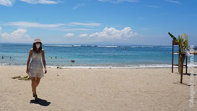 Vienas paplūdimių, kur vyks Melasti