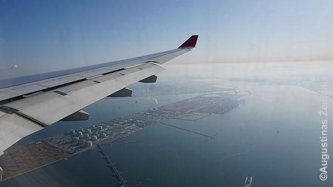 Seulas iš lėktuvo