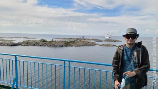Atplaukiame į Alandų salas