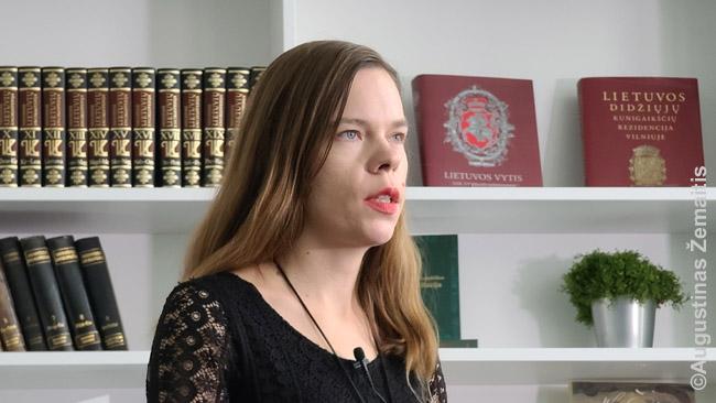 """Aistė kalba LRT laidai """"Pasaulio Lietuva"""" apie mūsų lietuviško paveldo paieškas. Laidų serija - artimiausiu metu."""
