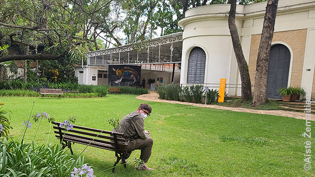 Emos Klabin muziejaus kieme