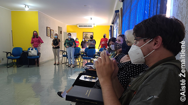 Susitikimas su Vila Zelinos mokyklos mokytojais