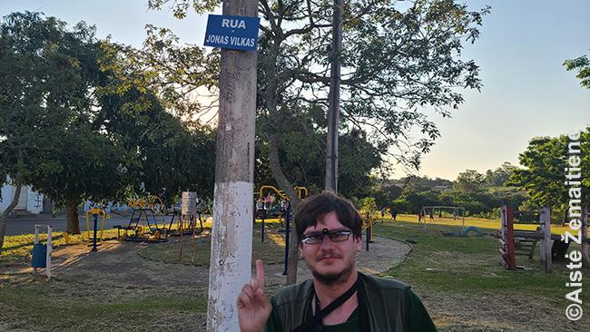 Jono Vilko gatvėje Angatuboje