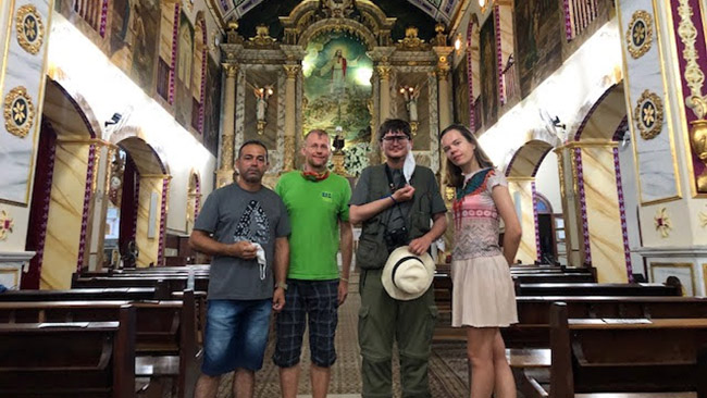 Pirakajos bažnyčioje