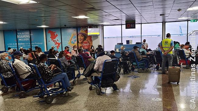 Grįžimo į Niujorką laukiantys JAV neįgalieji