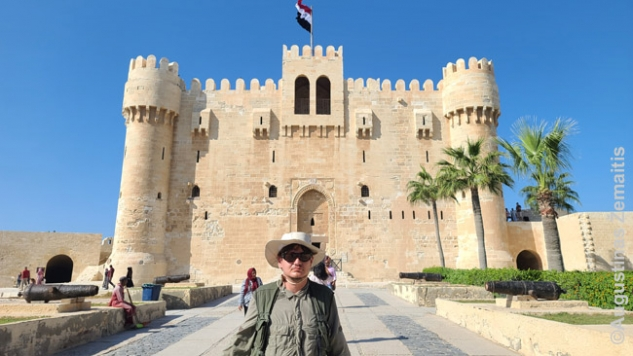 Prie Aleksandrijos forto