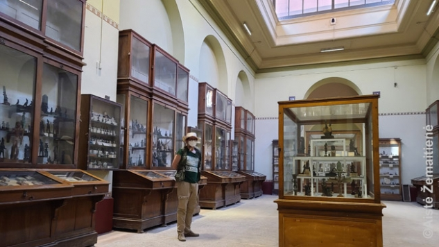 Aš Egipto muziejuje