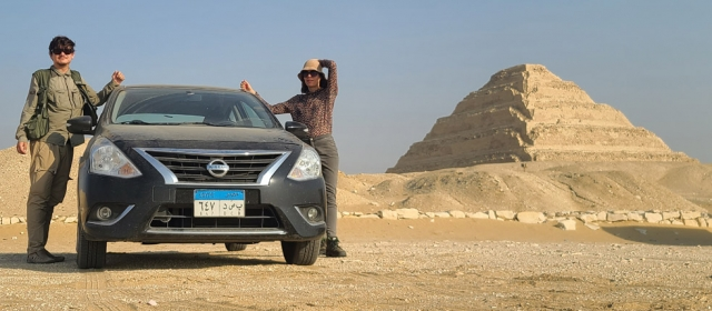 Automobiliu po Egiptą. COVID metu.