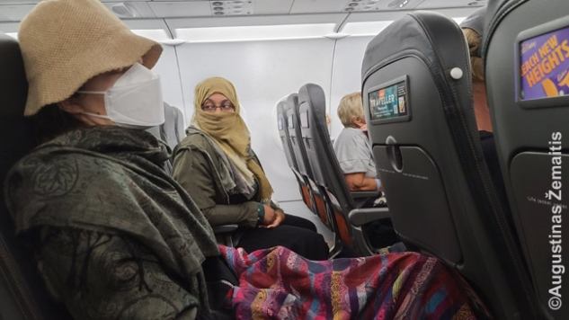 Lėktuve Hurghada-Mančesteris