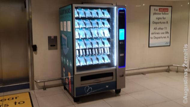Kaukių automatas oro uoste