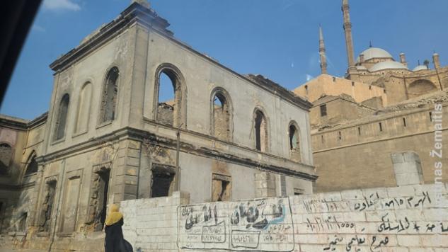 Apgriuvęs Kairas