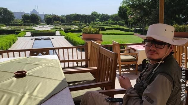 Al Azhar parke su citadele tolumoje