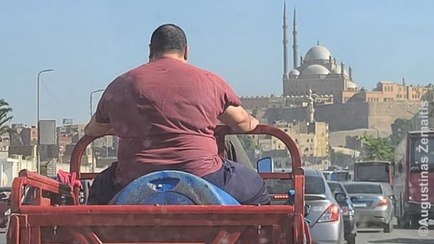 Kairo eismo fragmentas