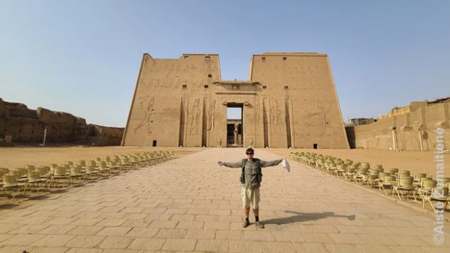 Edfu šventykloje
