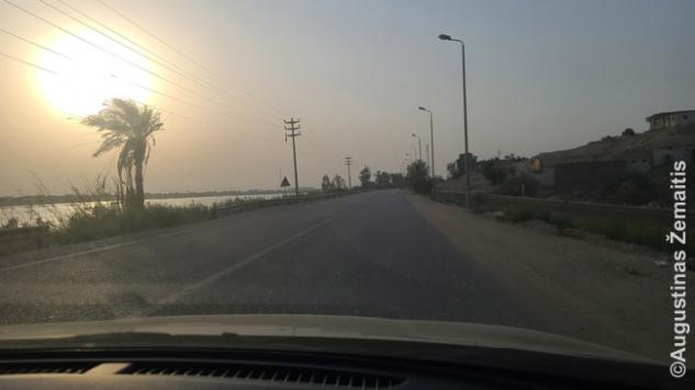 Važiavimas Nilo slėniu