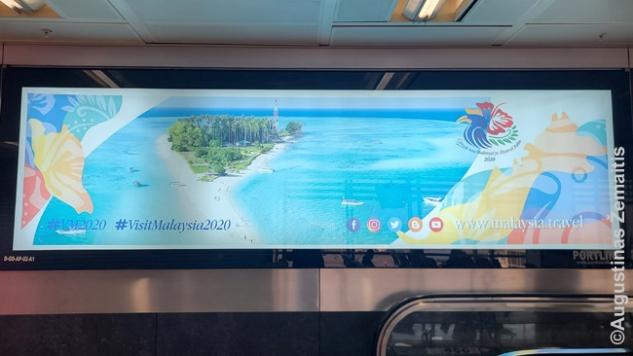 """Viena blogiausių visų laikų Malaizijos investicijų – visiems metams užpirkta """"Visit Malaysia 2020"""" reklama Stambulo oro uoste. Į šią šalį nuo pat kovo mėn. turistams įvažiuoti draudižiama – ir taip bus bent iki 2020 m. pabaigos"""