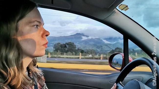 Pakeliui per Ekvadorą - dabar reikia nuvažiuoti kur kas didesnius atstumus